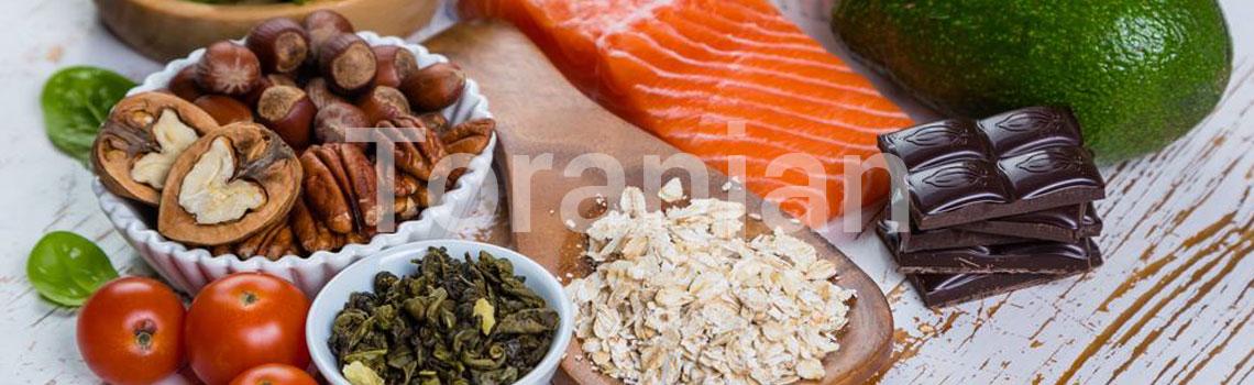 رژیم غذایی مناسب برای پوست - ترنجان