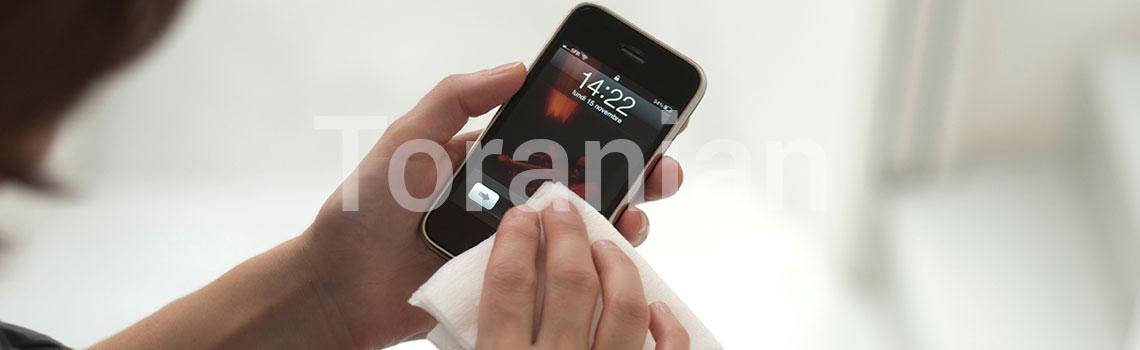 تلفن همراهتان (موبایل) را میکروبزدایی کنید - ترنجان
