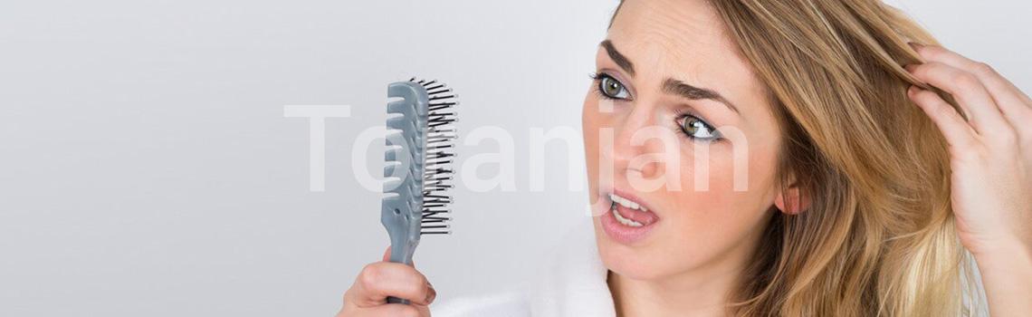 درمان مرسوم برای کمپشتی مو و ریزش مو - ترنجان