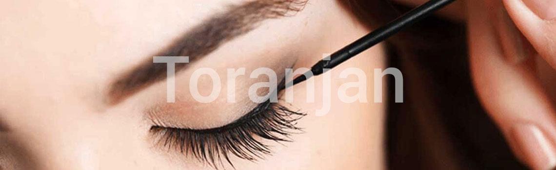 کشیدن گوشه چشم هنگام خط چشم کشیدن - ترنجان
