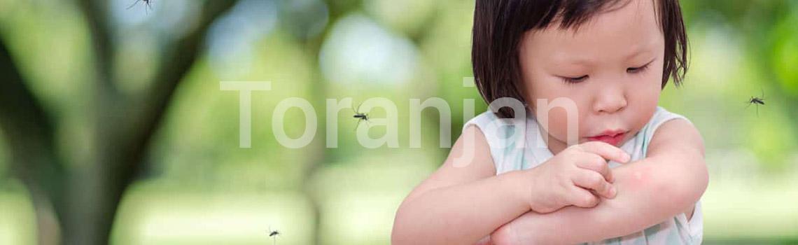 گزش حشرات - ترنجان