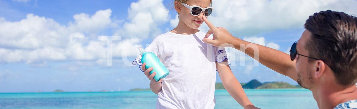 مراقبت از پوست هنگام رفتن به ساحل و استخر - ترنجان