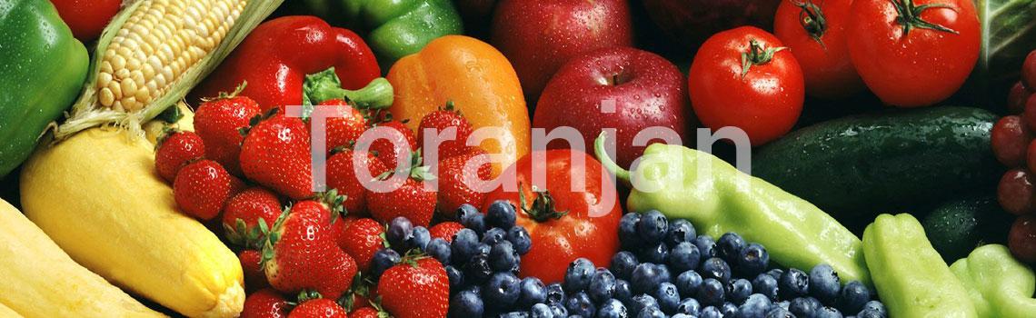 میوهها و سبزیهای پررنگ را انتخاب کنید - ترنجان
