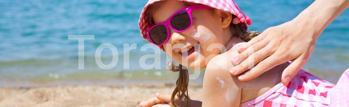 کرم ضد آفتاب مناسب برای کودکان - ترنجان
