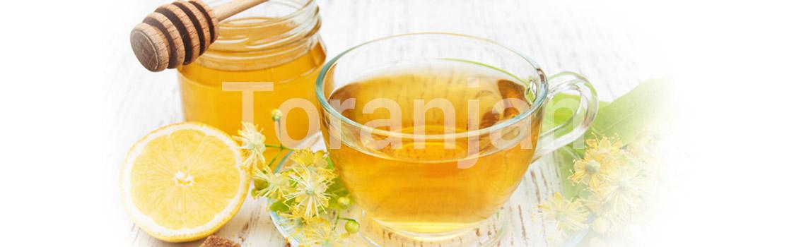 لیمو، عسل و چای سبز - ترنجان