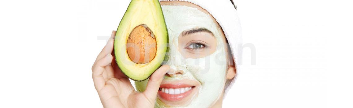 ماسک صورت آوکادو 100% طبیعی - ترنجان