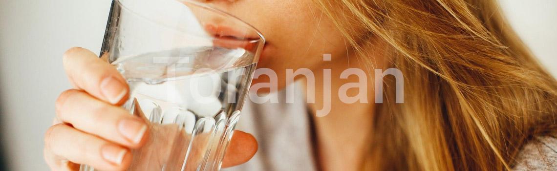 نوشیدن آب - ترنجان